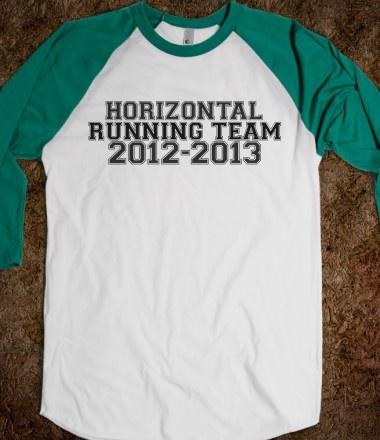 Horizontal Running Team 2012-2013   Pitch Perfect..haha yes!