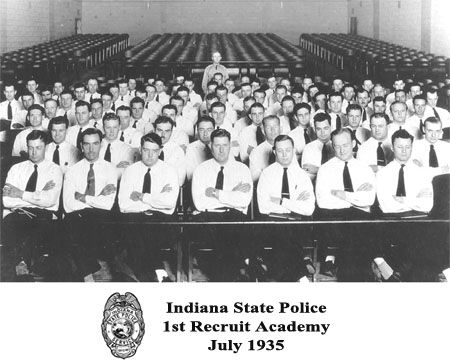 Indiana State Police First Recruit Academy - July 1935