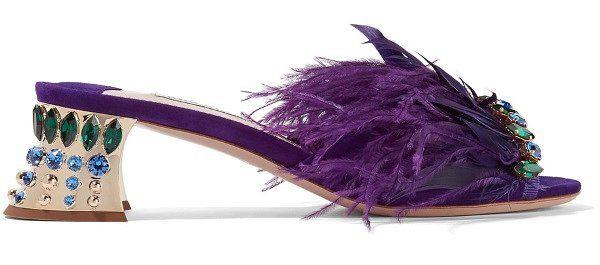 Модная обувь сезона: мюли // Trendy Shoes 2017: Mules #MiuMiu #fashion #trends #shoes