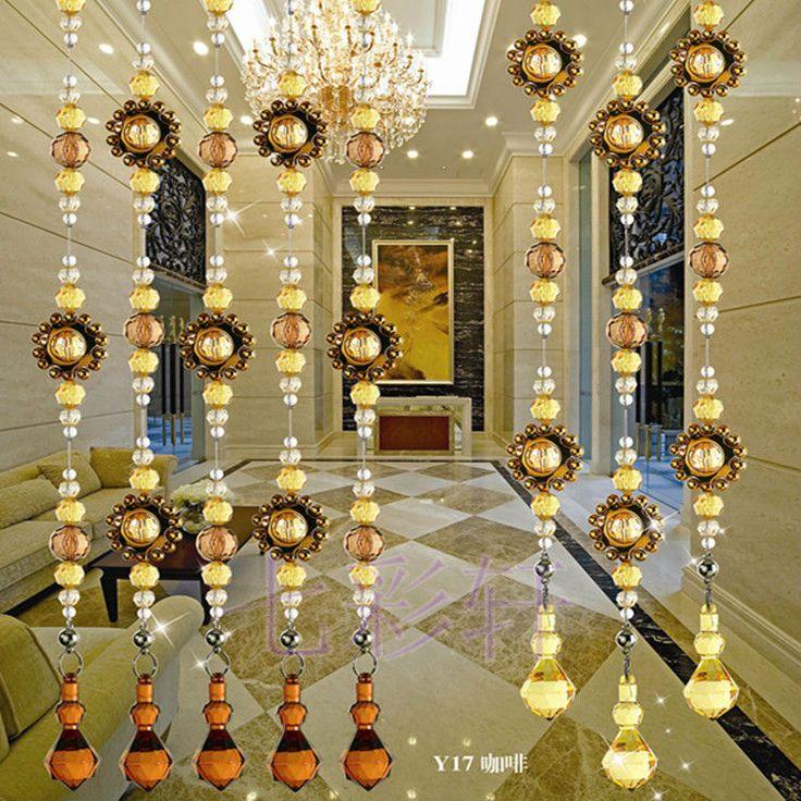 17 best cortinas para puertas images on pinterest door - Cortinas de cuentas ...