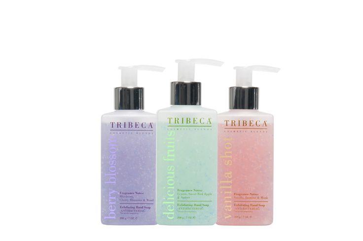 Antibacterial & Exfoliating HAND SOAP  www.tribecaonline.com.ar