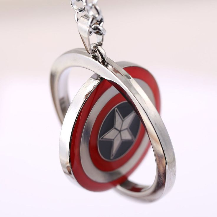 Captain America Silver Necklace //Price: $6.58 & FREE Shipping //     #hashtag4