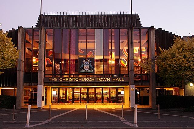 Christchurch Town Hall
