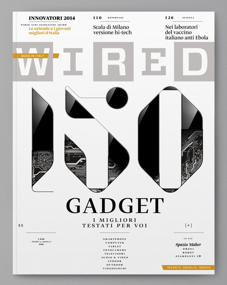 Wired (Italy) by Sawdust