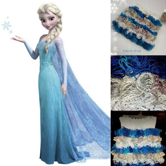 Ruffle skirt crochet skirt girl ruffle skirt by ButiculColorat