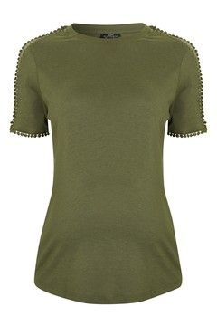 TOPSHOP MATERNITY Pretty Mesh T-Shirt