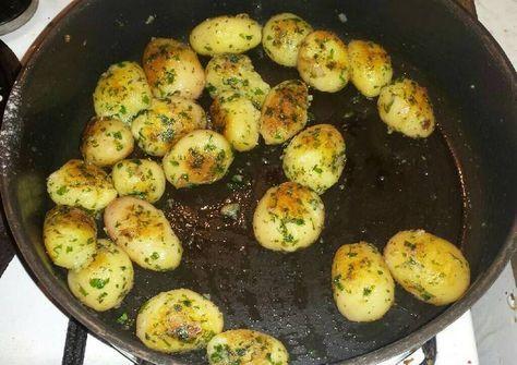 Serpenyős petrezselymes krumpli