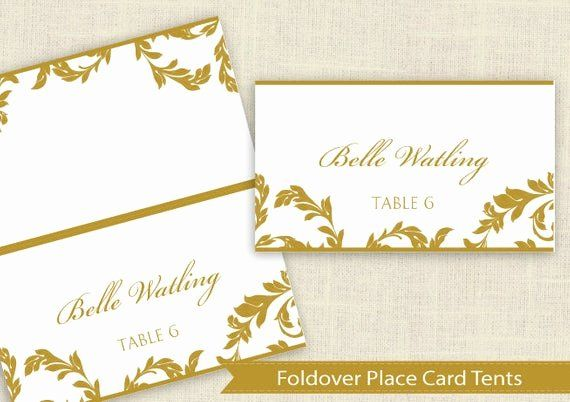Tent Card Template 6 Per Sheet Beautiful Avery 5302 Template Dimensions Chillforge Place Card Template Wedding Place Card Templates Tent Cards