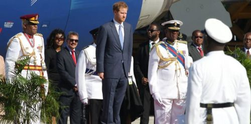 El príncipe Enrique de Inglaterra visita por 14 días el Caribe...