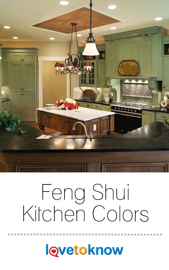 The Best Feng Shui Colors For A Kitchen Support The Energy