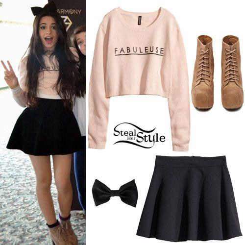 Siempre me ha encantado el estilo de Camila Cabello, este es uno de los tantos outfits que me encantan de ella. Puedes cambiar los zapatos ya que se que tal vez no tengas unos así. #inspiration #camilacabello