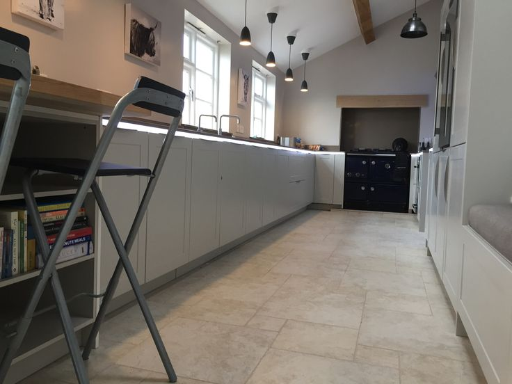 New Kitchen Finished May Rotpunkt and Silestone tops
