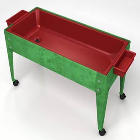 Youth Sand and Water Activity Center (4-casters) - Green