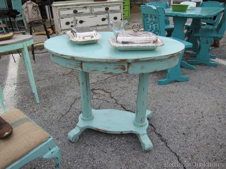Painted Furniture Inspiration at The Nashville Flea Market