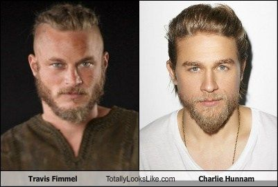Travis Fimmel Totally Looks Like Charlie Hunnam