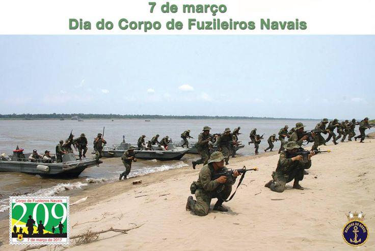 07 de Março dia do Corpo de Fuzileiros Navais - Marinha do Brasil