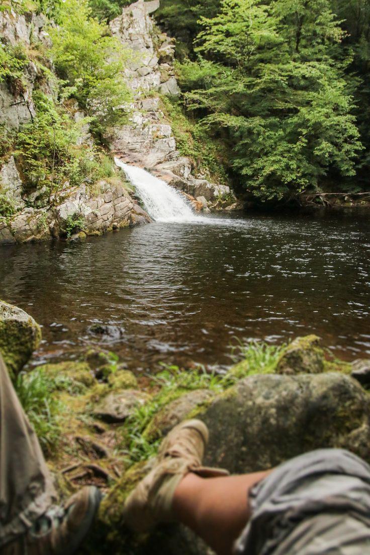 Les cascades de Vieyres dites Tahiti à Lamativie, Vallée de la Dordogne - Lot