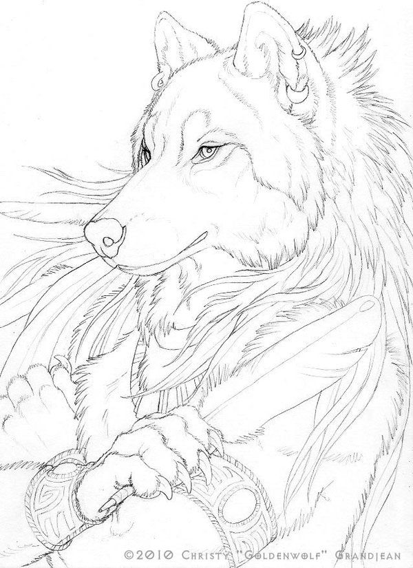 61 best Anthro Wolves images on Pinterest | Werewolf art ...