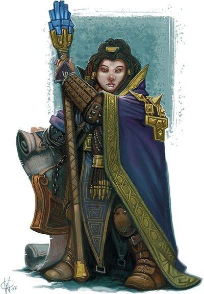 Dwarf mage. | Nerdtopia III: People & creatures. | Pinterest