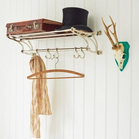 Carson Chrome Coat Rack - View All Home Accessories - Treat Your Home - Home Accessories