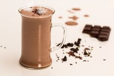 Dieser Likör besteht aus der leckersten Schokolade