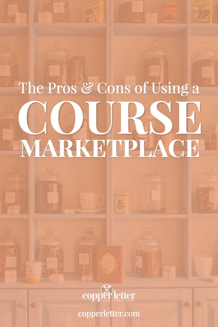 A course marketplace is a popular option for delivering your online courses. Let's examine some of the pros and cons of using them for your online course.