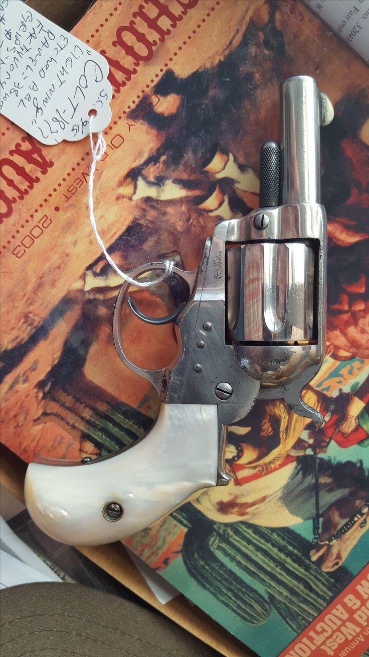 "Colt 1877 ""Lightning"" from 1879, modified barrel"