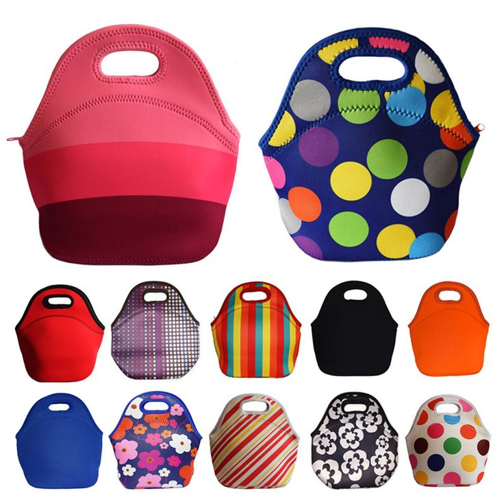 Lancheira Thermo Thermal Insulated Neoprene Lunch Bag for  Kids Lunch Bags Tote Cooler Lunch Box ... http://lunchboxforkids.net