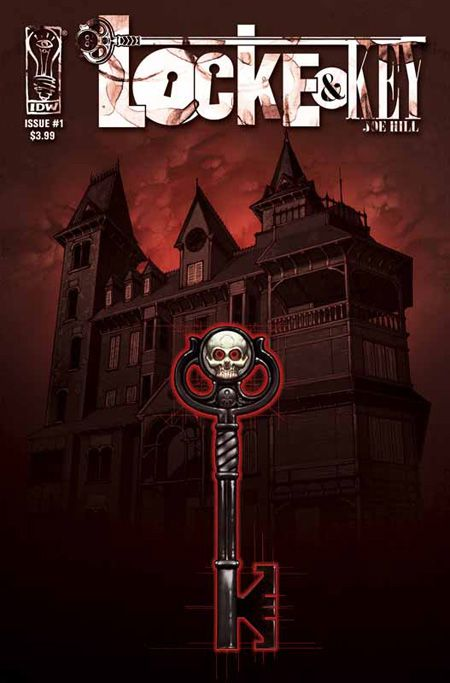 """""""LOCKE & KEY is about an old New England mansion littered with impossible keys and full of impossible doors. There are six books in the series."""""""