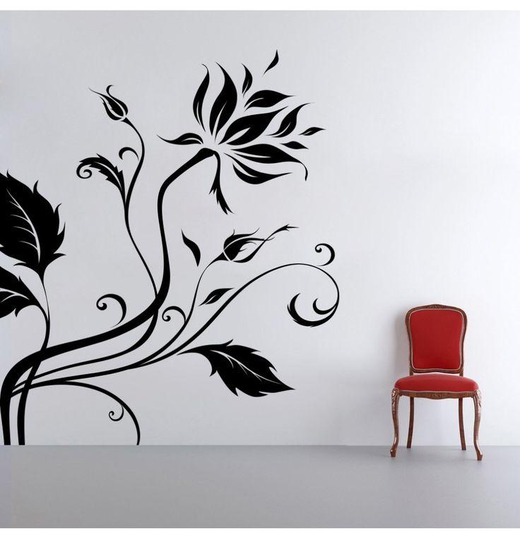 Decor Kafe Creative Swirl Wall Decal (Sizes Available)