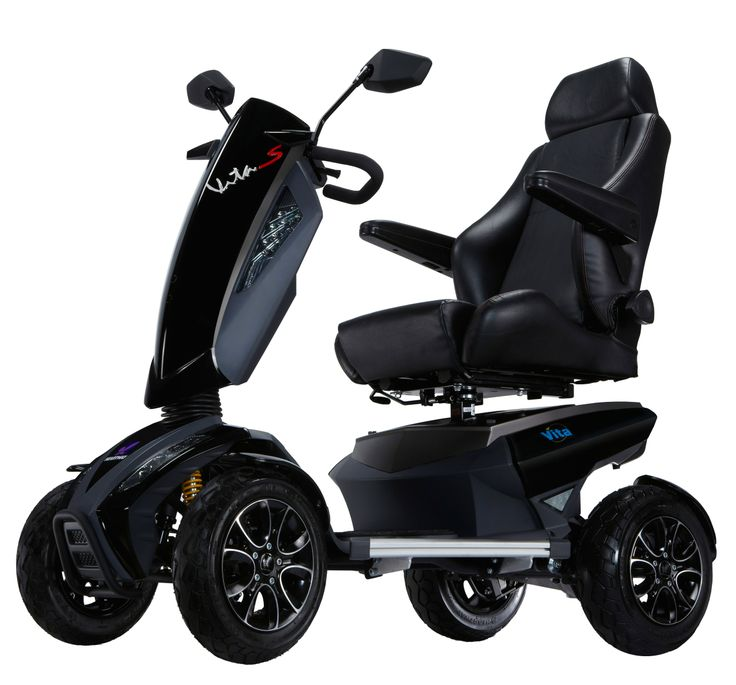 VITA SE, VITA Sport full electric scooters, bariatric capacity fast scooters
