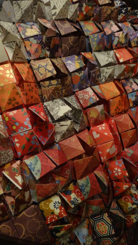 Custom Origami Wall Art