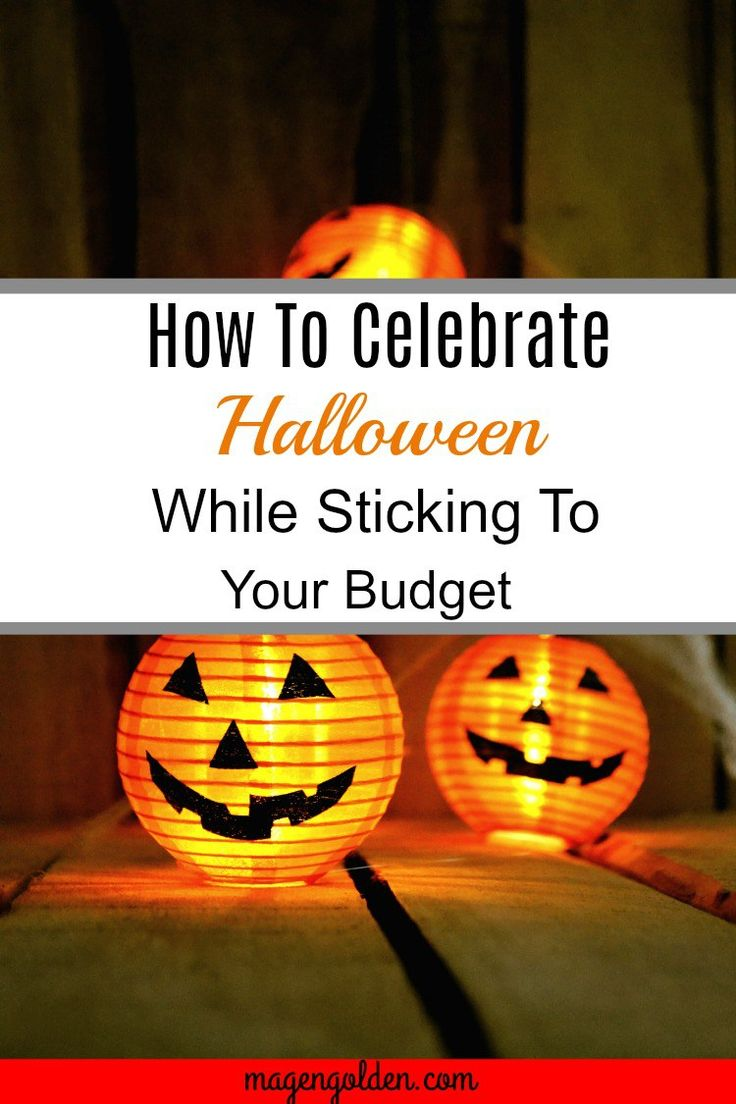Tips on how to buy Halloween supplies while still sticking to that budget you worked so hard on.