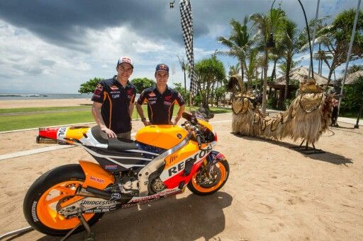 Marc marquez and pedrosa in Bali #MM93