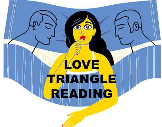 Psychic Love Triangle Reading, Psychic Reading, Two Loves, Love Psychic, Psychic…