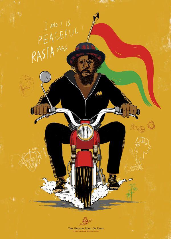 PEACEFUL RASTA MAN | Greece | International Reggae Poster Contest