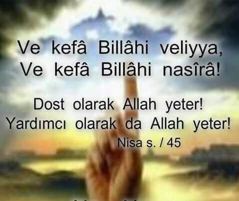 Allah yeter❤