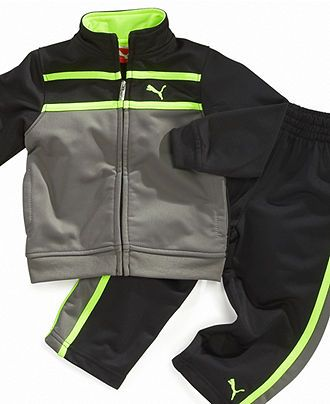 Puma Baby Set, Baby Boys Track Jacket and Pants - Kids Baby Boy (0-24 months) - Macy's