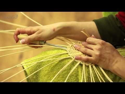 fotonávod na kulaté dno pletení z papíru