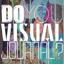 Do you visual journal? Learn a new way to journal using minimal words!