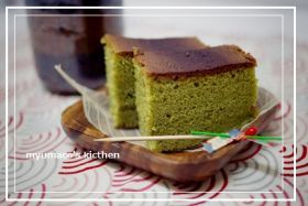 「パウンド型で!抹茶カステラ」みゅまこ | お菓子・パンのレシピや作り方【corecle*コレクル】