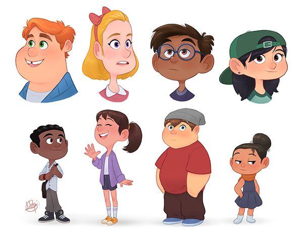 Character Design on Behance