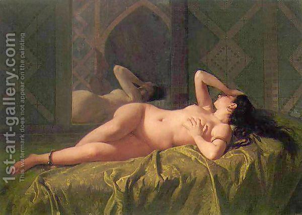Odalisca (Odalisque) by Mariano José María Bernardo Fortuny y Carbó