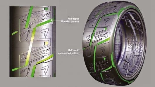 Kumho Tire Laser Etching