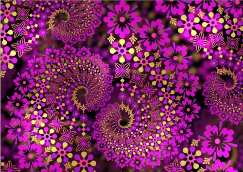 Fractals in geometric terms, is a pattern or figure that can be split into parts, each of which is (at least approximately) a reduced-size copy of the whole.
