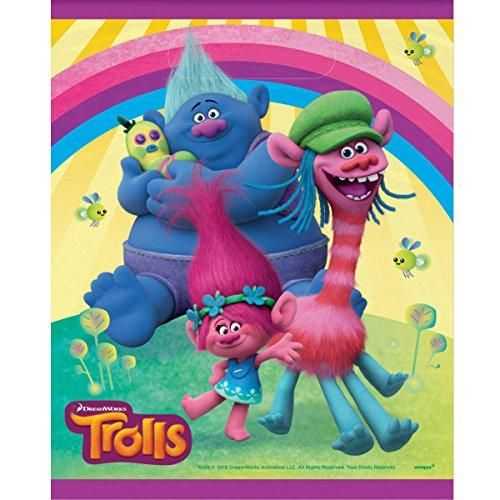 Trolls Party Loot Bags [8 per Pack]