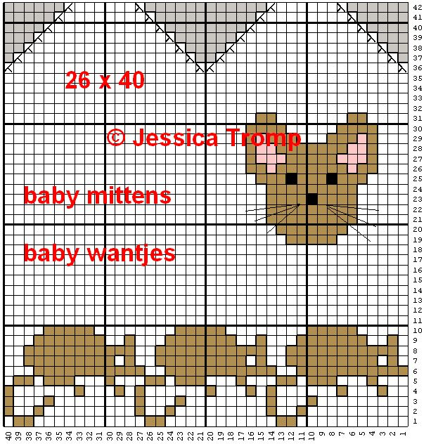 baby mittens wantjes.png (613×632)