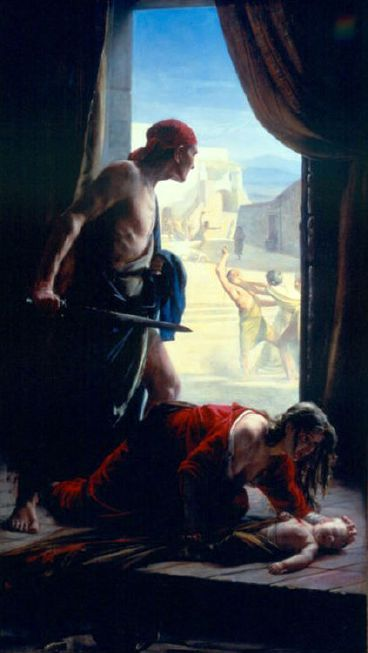 the slaughter of the innocent Introduction matthew presents the student of scripture with several interpretive problems in the second chapter of his gospel as we pointed out in lesson 2 of this.