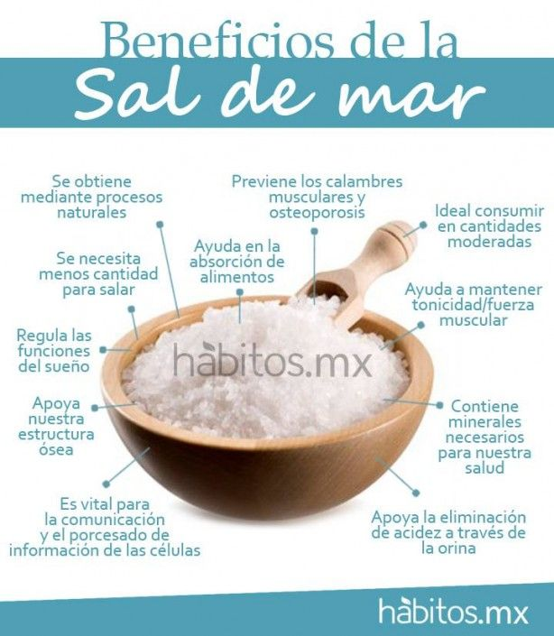 BENEFICIOS DE A SAL DE MAR