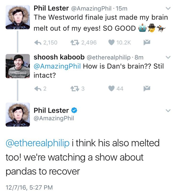 YAS. DAN AND PHIL WATCHED WESTWORLD. I WATCHED WESTWORLD. I CANNOT RN #theseviolentdelightshaveviolentends